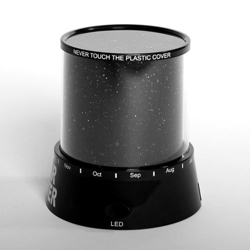 Ночник — проектор звездного неба Star Master. Вид 4