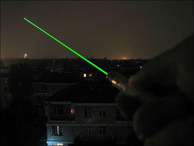 Зеленая лазерная указка 200 mW. Вид 3