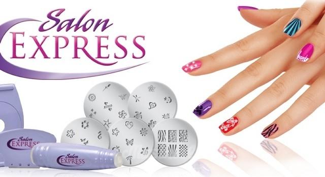Набор для печати на ногтях в домашних условиях Salon Express. Вид 1