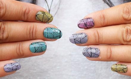 Набор для печати на ногтях в домашних условиях Salon Express. Вид 6