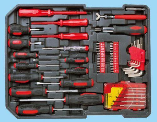 Набор инструментов в чемодане Komfortmax KF-1062. Вид 4