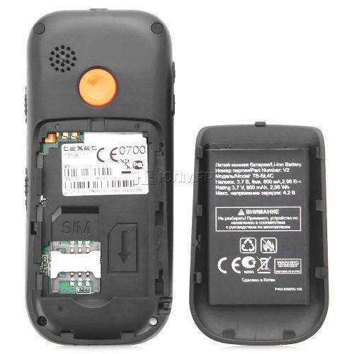 Мобильный телефон для пожилых людей TM-B111. Вид 4