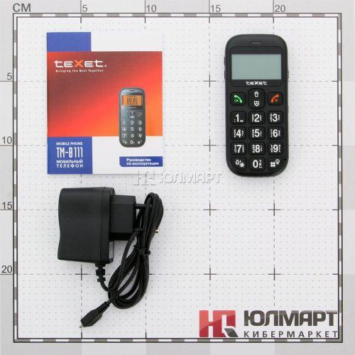 Мобильный телефон для пожилых людей TM-B111. Вид 5