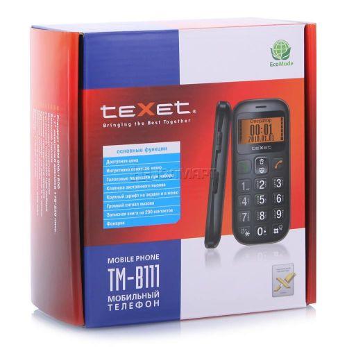 Мобильный телефон для пожилых людей TM-B111. Вид 6