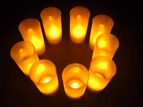 Светодиодная свеча LED Candle. Вид 2