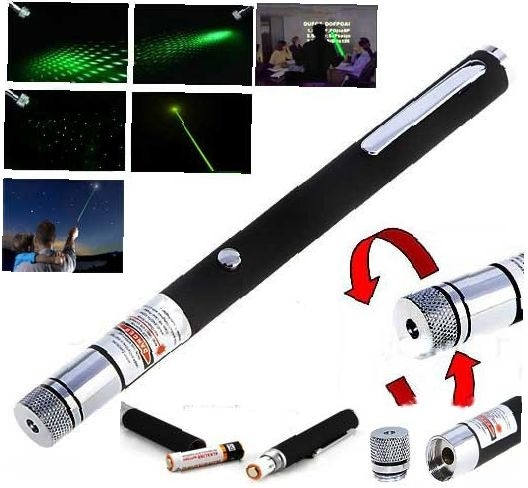Зеленая лазерная указка 200 mW. Вид 1