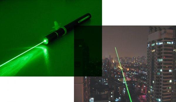 Зеленая лазерная указка 200 mW. Вид 4