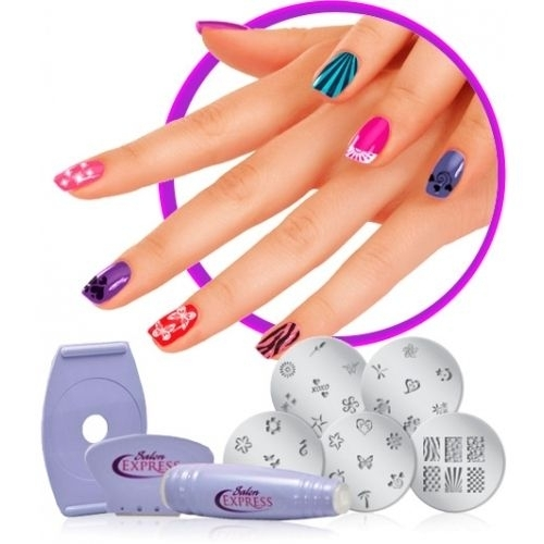Набор для печати на ногтях в домашних условиях Salon Express. Вид 2
